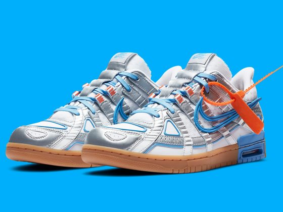 Off-White x Nike Air Rubber Dunk ''University Blue'' - CU6015-100
