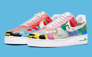 Ruohan Wang x Nike Air Force 1 Flyleather - CZ3990-900
