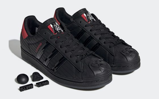 Star Wars x adidas Superstar ''Darth Vader'' - FX9302