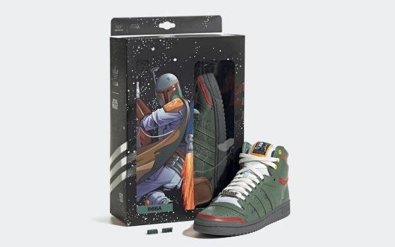 Star Wars x adidas Top Ten Hi ''Boba Fett'' - FZ3465
