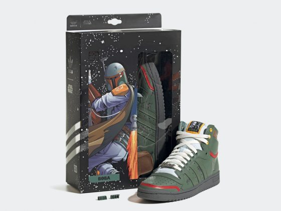 Star Wars x adidas Top Ten Hi ''Boba Fett'' - FZ3465