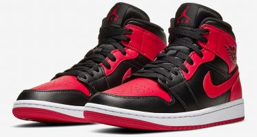Air Jordan1 Mid ''Bred''/''Banned''