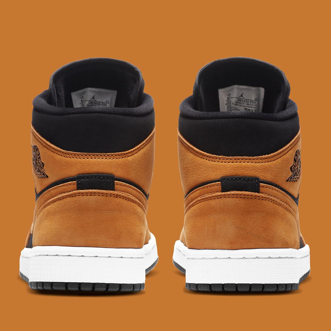 Air Jordan 1 Mid ''Wheat'' - DB5453-700