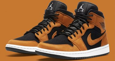 Air Jordan1 Mid ''Wheat''