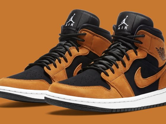 Air Jordan 1 Mid ''Wheat'' - DB5453-700