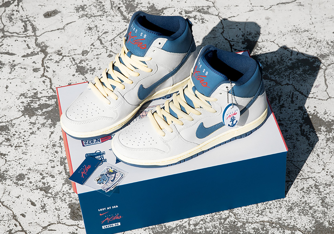 Atlas x Nike SB Dunk High ''Lost At Sea'' - CZ3334-100