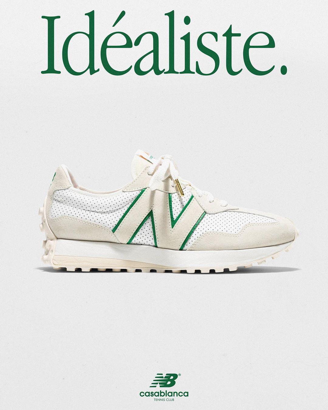 Casablanca x New Balance 327 ''Idéaliste'' - ''Green Logo''