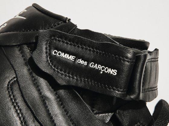 Comme des Garçons x Nike Air Force 1 Mid ''Black'' - DC3601-001