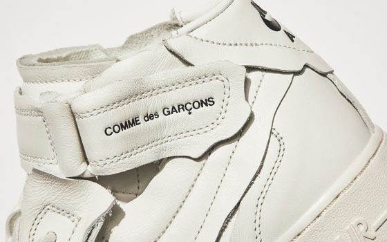 Comme des Garçons x Nike Air Force 1 Mid ''White'' - DC3601-100