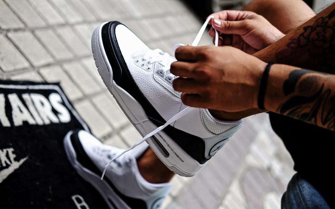 Fragment Design x Air Jordan 3 Retro SP - DA3595-100 - Sneaker Style