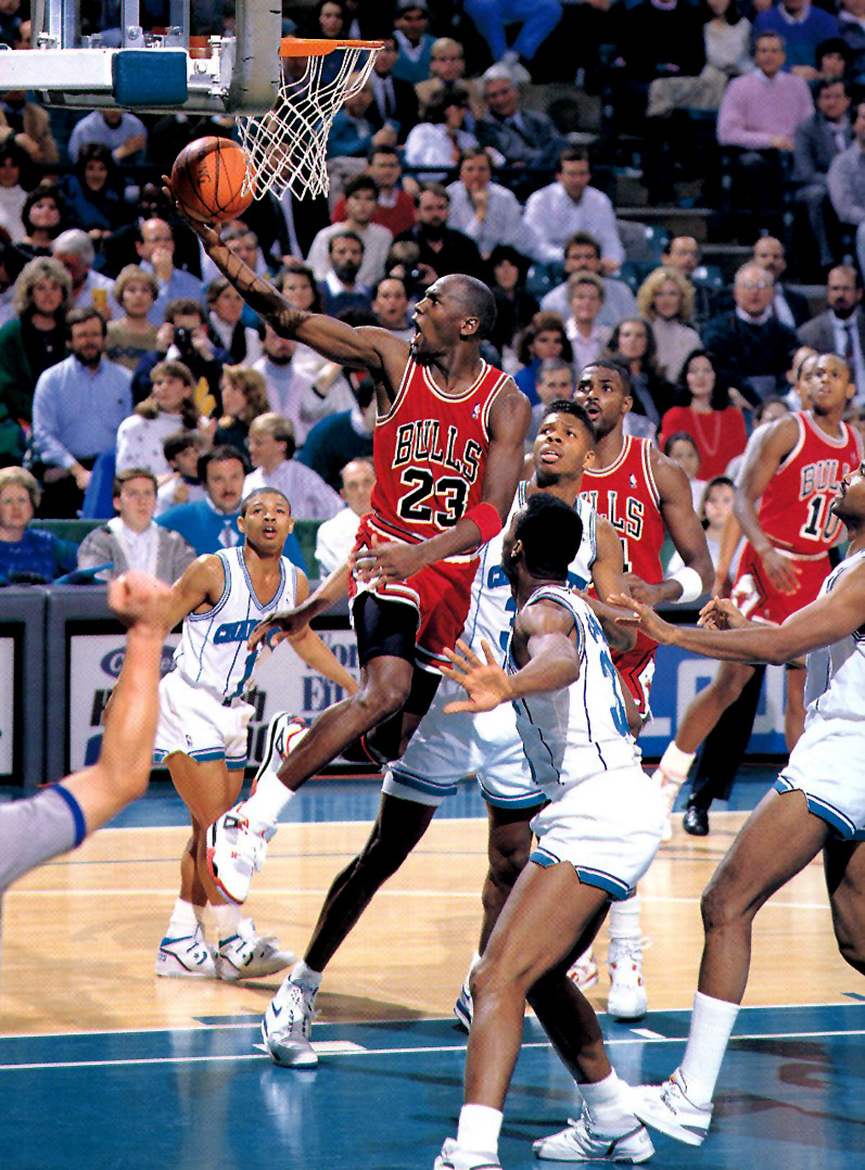 Michael Jordan - Air Jordan 4 ''Fire Red''