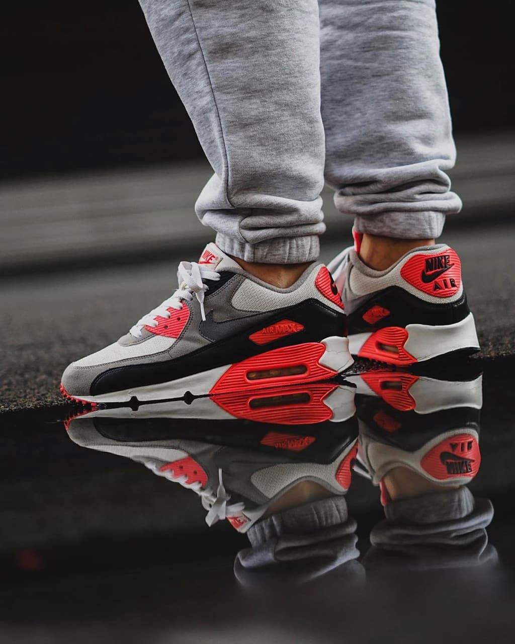 Nike Air Max 90 ''Infrared'' - On-feet