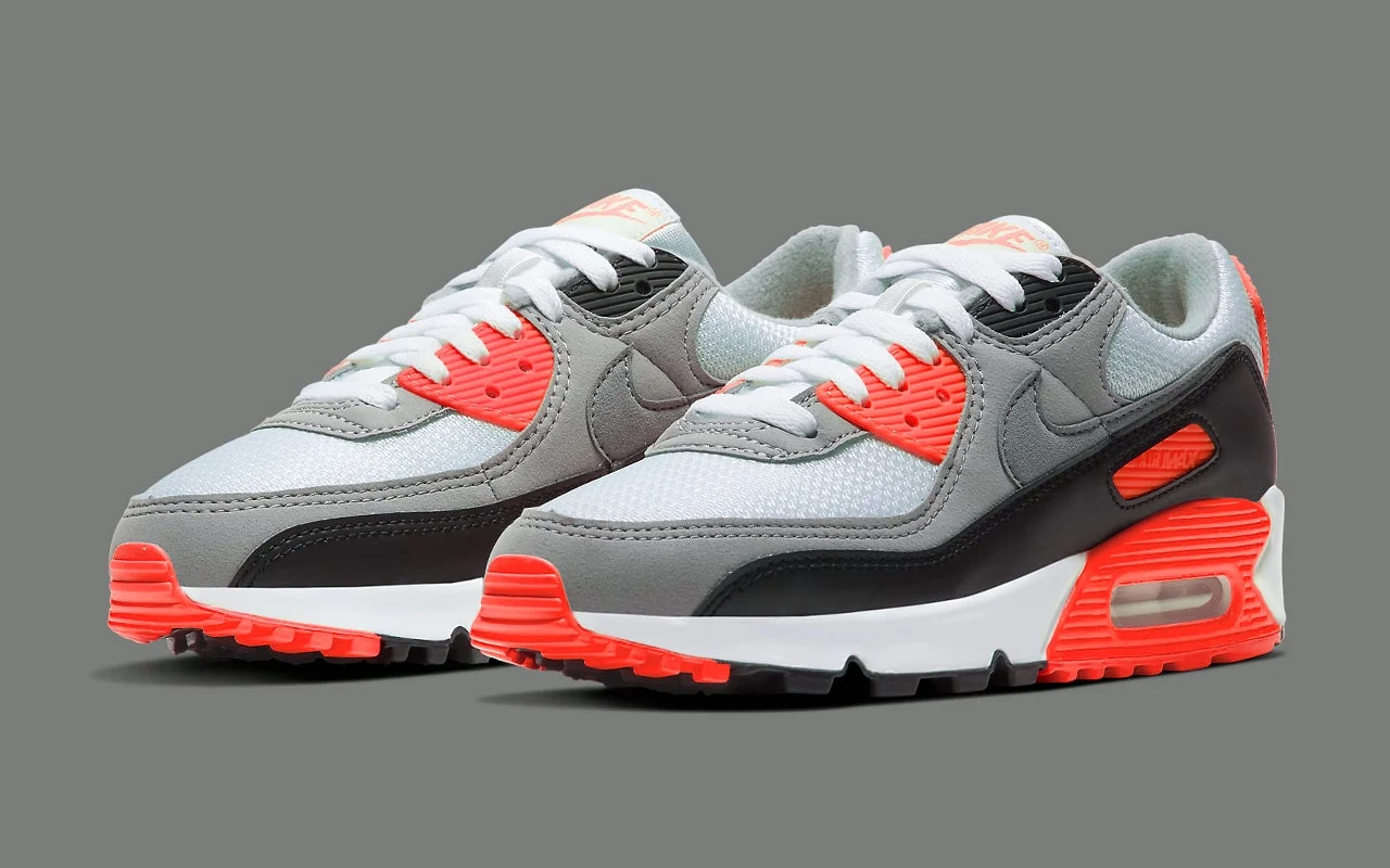Nike Air Max 90 ''Infrared'' - CT1685-100 - Sneaker Style