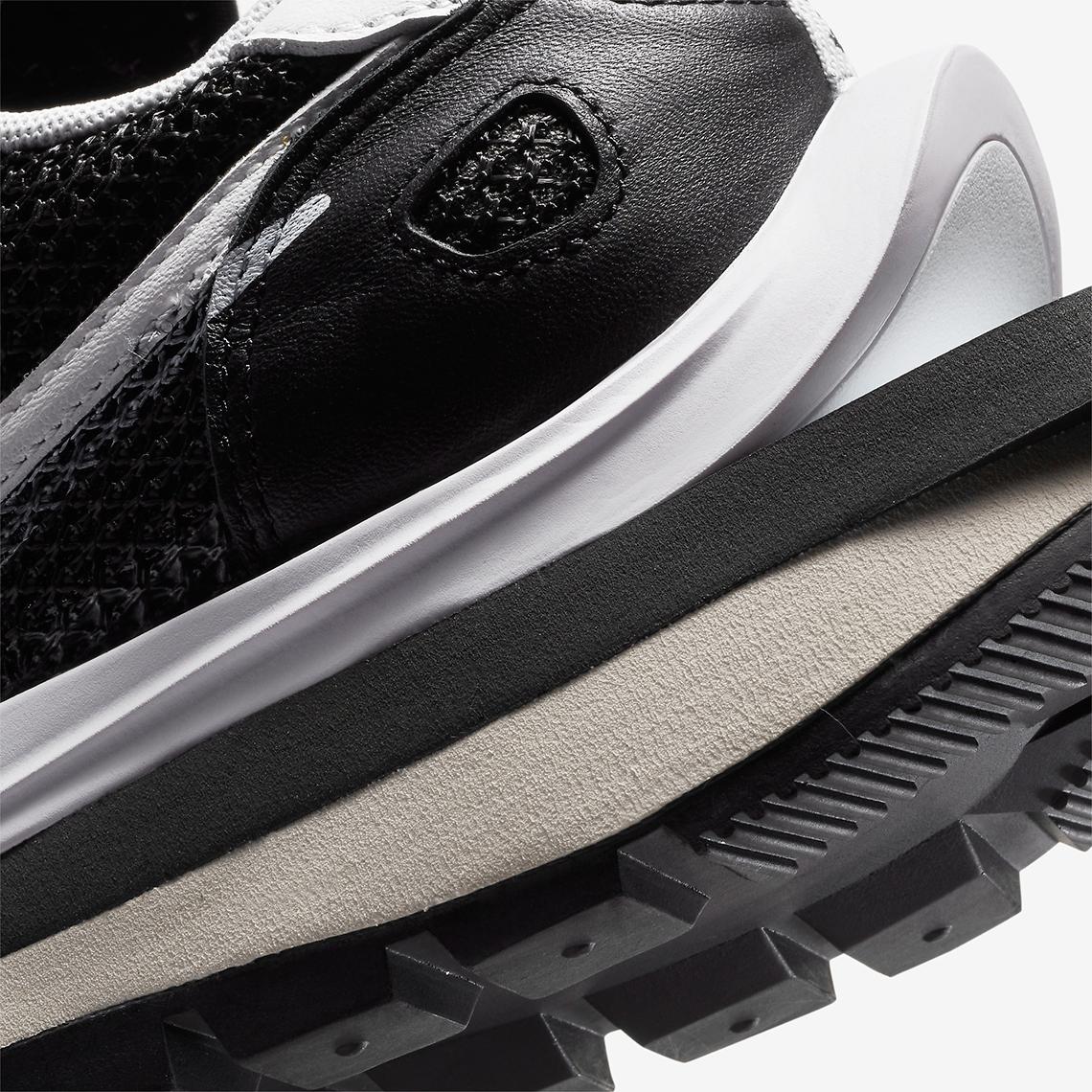 Sacai x Nike Vaporwaffle ''Black/White'' - CV1363-001
