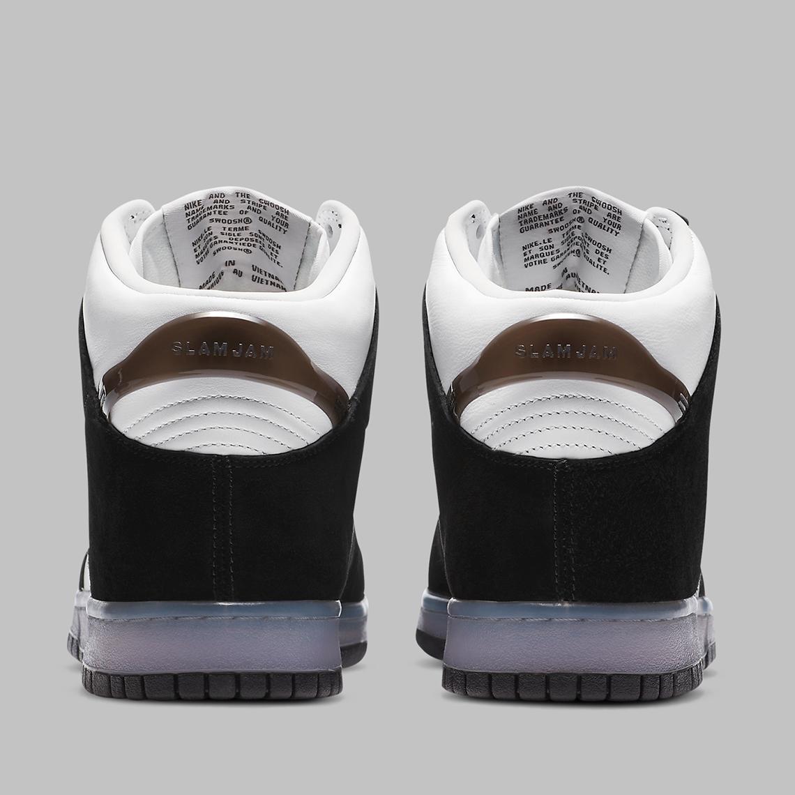 Slam Jam x Nike Dunk High ''Clear Black'' - DA1639-101