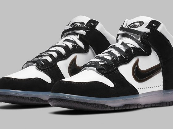 Slam Jam x Nike Dunk High ''Clear Black'' - DA1639-101