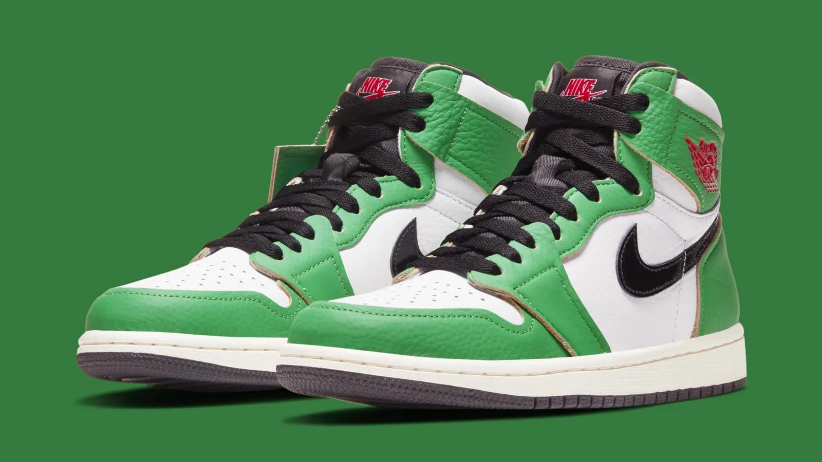 air jordan 1 vert et blanc