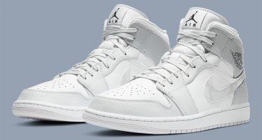 Air Jordan1 Mid ''Grey Camo''