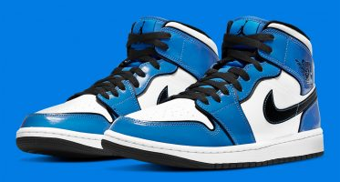 Air Jordan1 Mid ''Signal Blue''