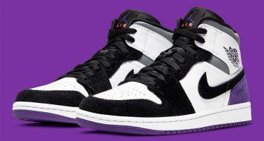Air Jordan1 Mid ''Varsity Purple''