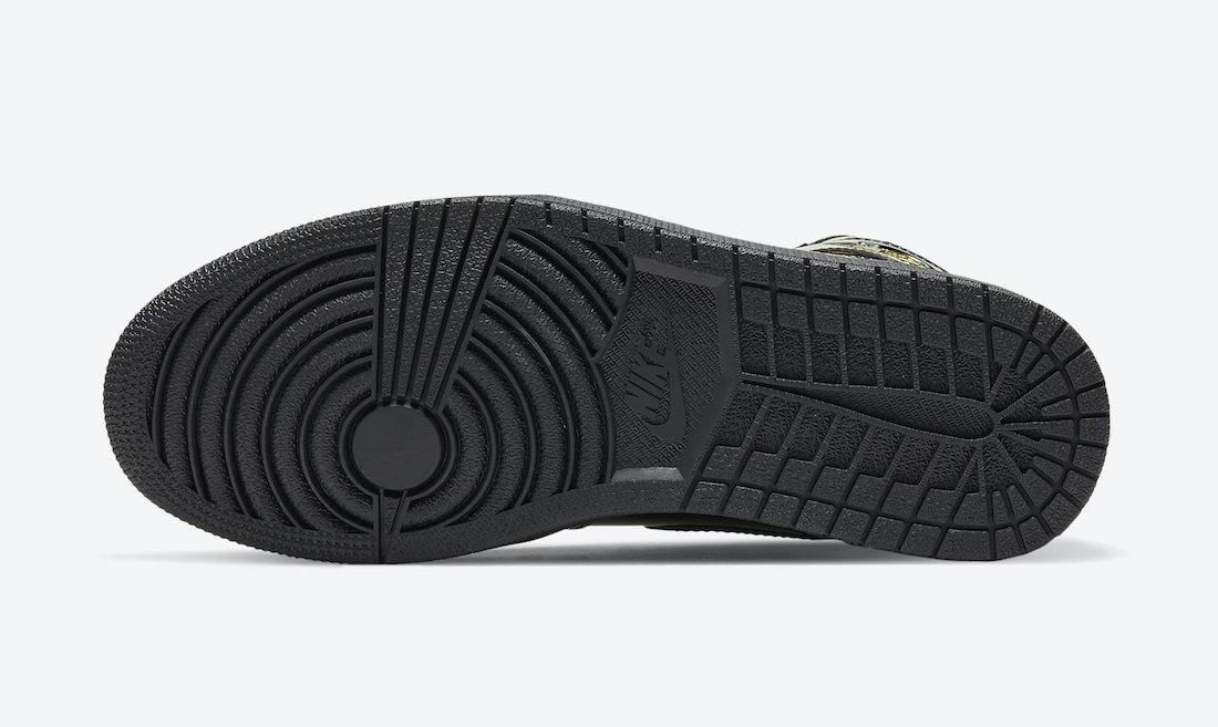 Air Jordan 1 Retro High OG ''Black/Metallic Gold'' - 555088-032