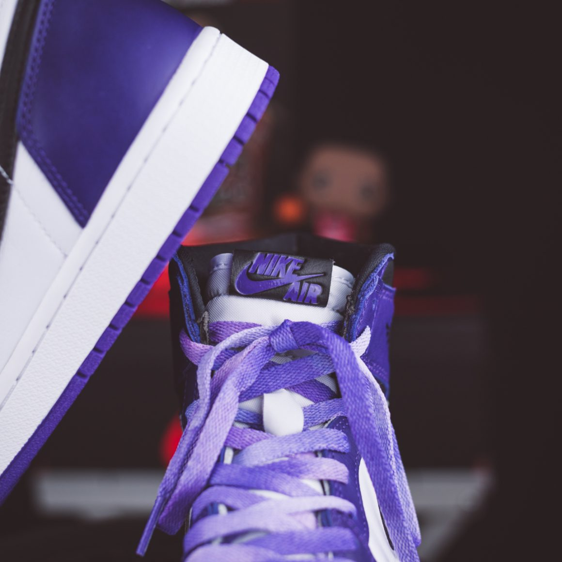 Air Jordan 1 Retro High OG ''Court Purple''