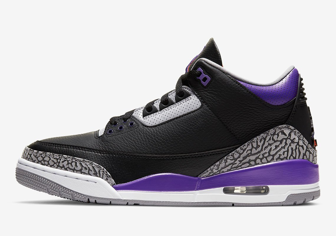 Air Jordan 3 Retro ''Court Purple'' - CT8532-050