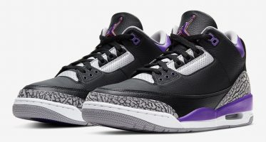 Air Jordan3 Retro ''Court Purple''