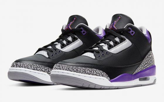 Air Jordan 3 Retro ''Court Purple'' - CT8532-050