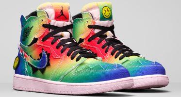J. BalvinAir Jordan 1 High ''Colores Y Vibras''