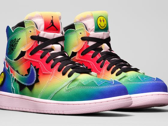 J. Balvin x Air Jordan 1 High ''Colores Y Vibras'' - DC3481-900