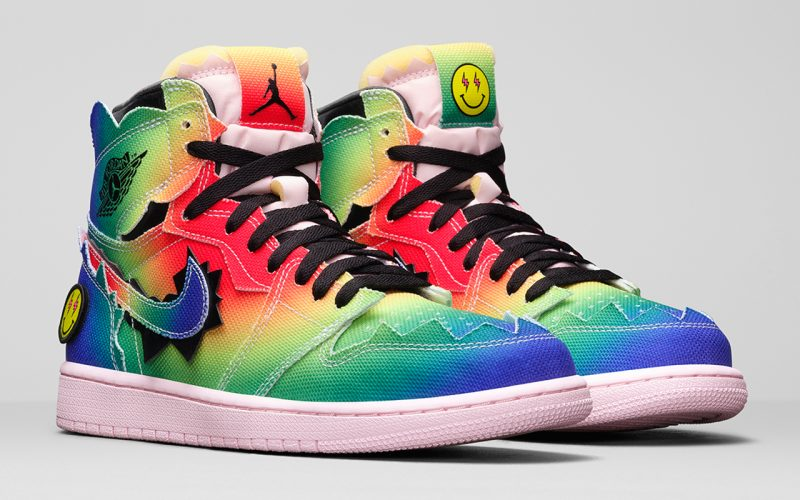 J. Balvin x Air Jordan 1 High ''Colores Y Vibras'' - DC3481-900