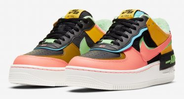NikeAir Force 1 Shadow SE ''Solar Flare/Atomic Pink''