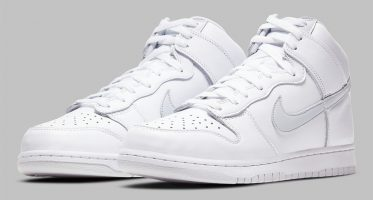 NikeDunk High SP ''Pure Platinum''