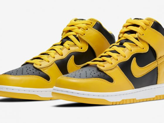 Nike Dunk High SP ''Varsity Maize''/''Iowa'' - CZ8149-002