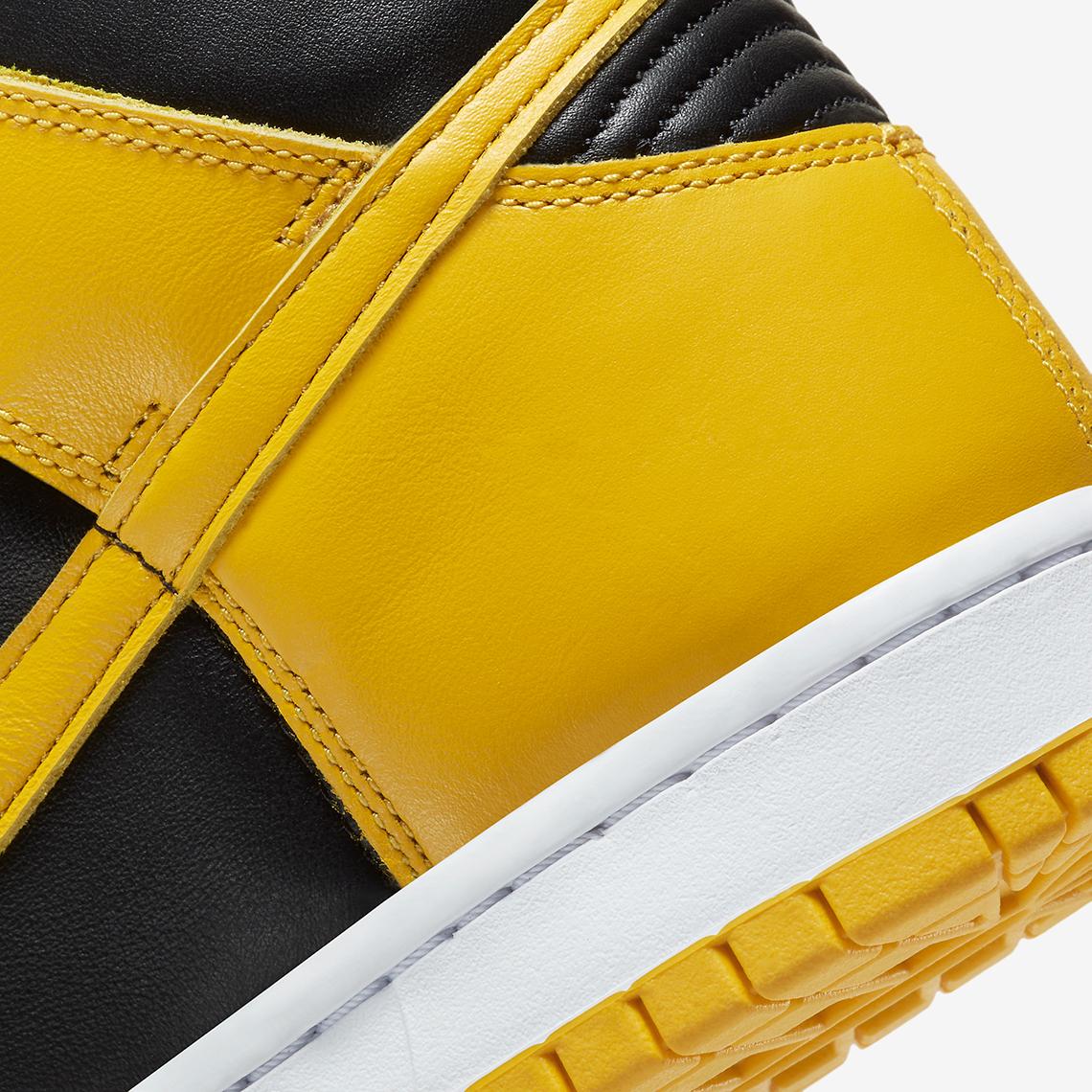 Nike Dunk High SP ''Varsity Maize''/''Iowa'' - CZ8149-002