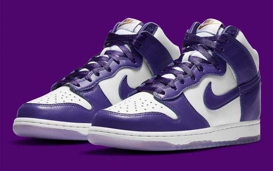 Nike Dunk High SP WMNS ''Varsity Purple'' - DC5382-100