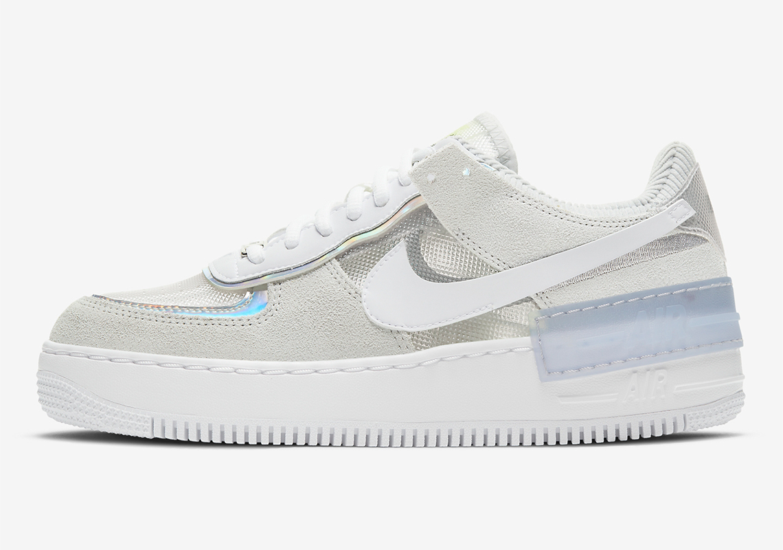 Nike WMNS Air Force 1 Shadow ''Pure Platinum'' - DC5255-043