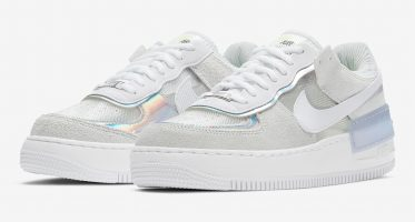 NikeWMNS Air Force 1 Shadow ''Pure Platinum''