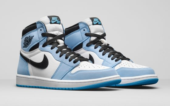 Air Jordan 1 Retro High OG ''University Blue'' - 555088-134