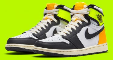 Air Jordan1 Retro High OG ''Volt Gold''