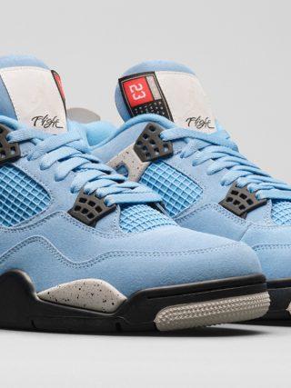 Air Jordan 4 Retro ''University Blue'' - CT8527-400