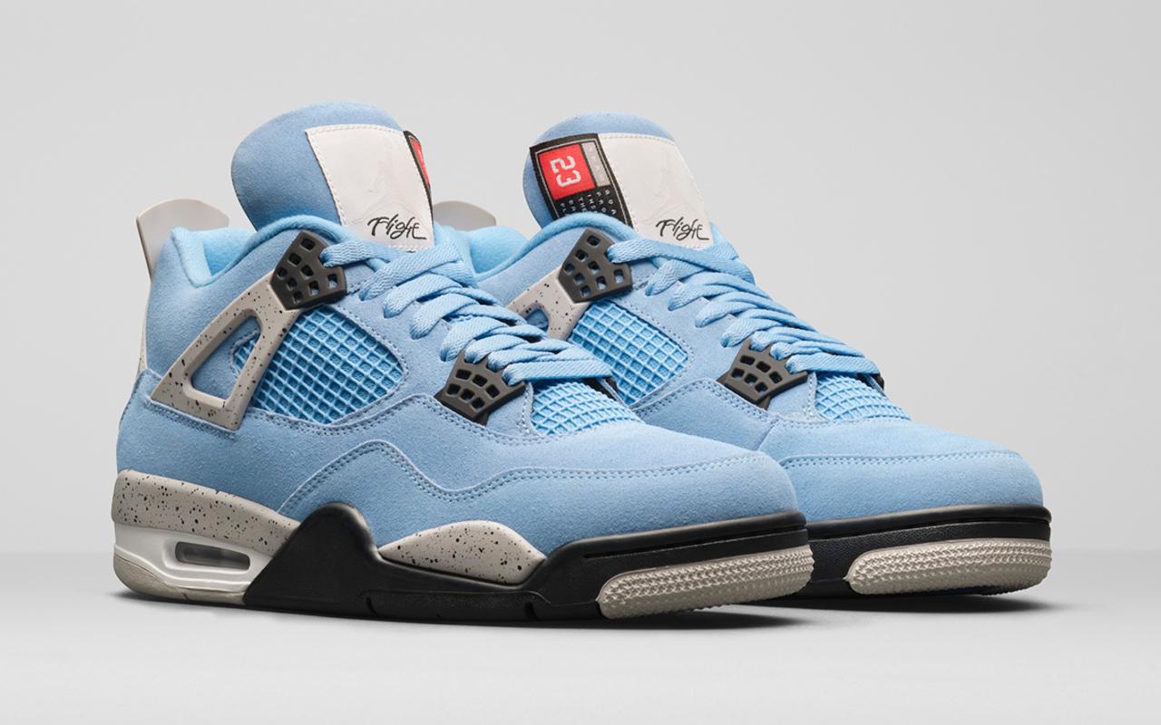 Air Jordan 4 ''University Blue'' - CT8527-400 - Sneaker Style