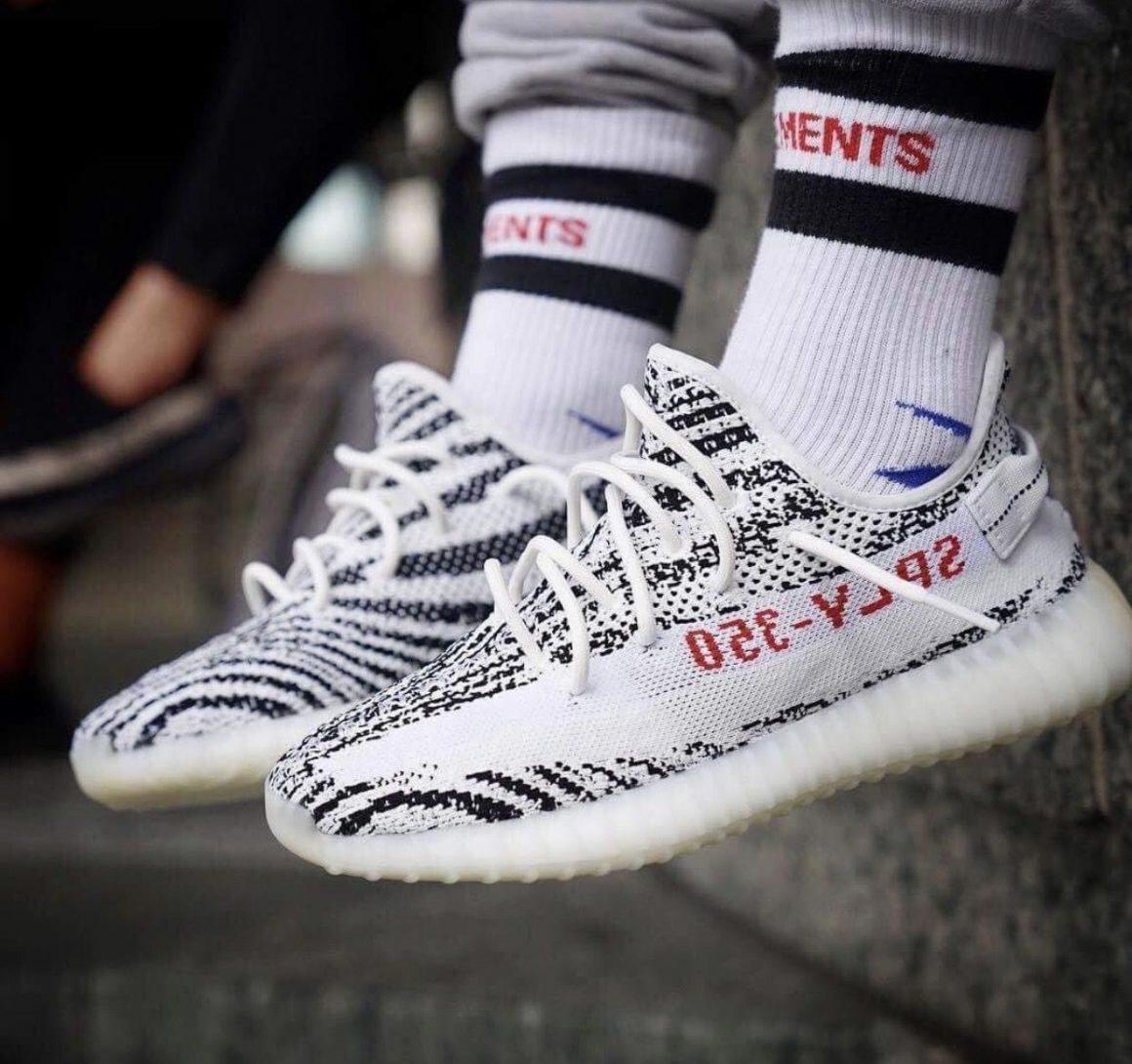 Basket chaussette couleurs