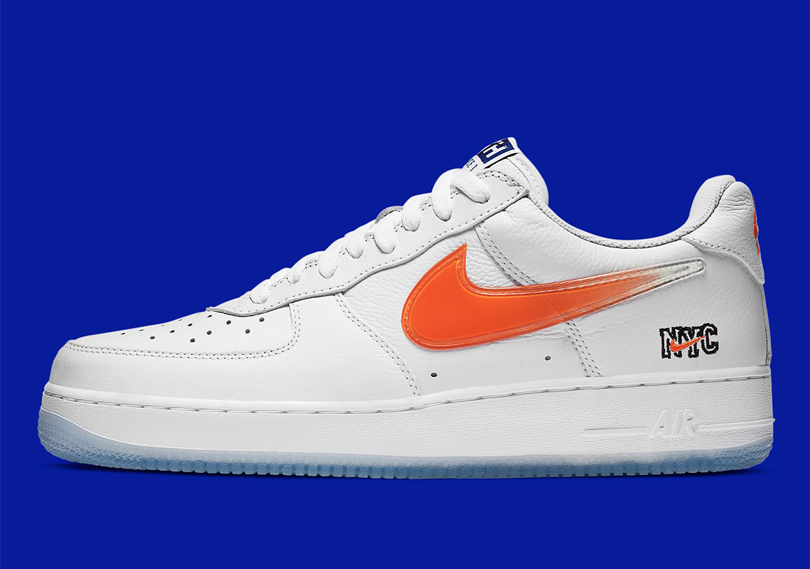 KITH x Nike Air Force 1 Low ''NYC'' ''White'' - CZ7928-100