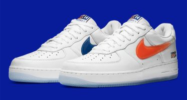 KITHNike Air Force 1 Low ''NYC'' ''White''