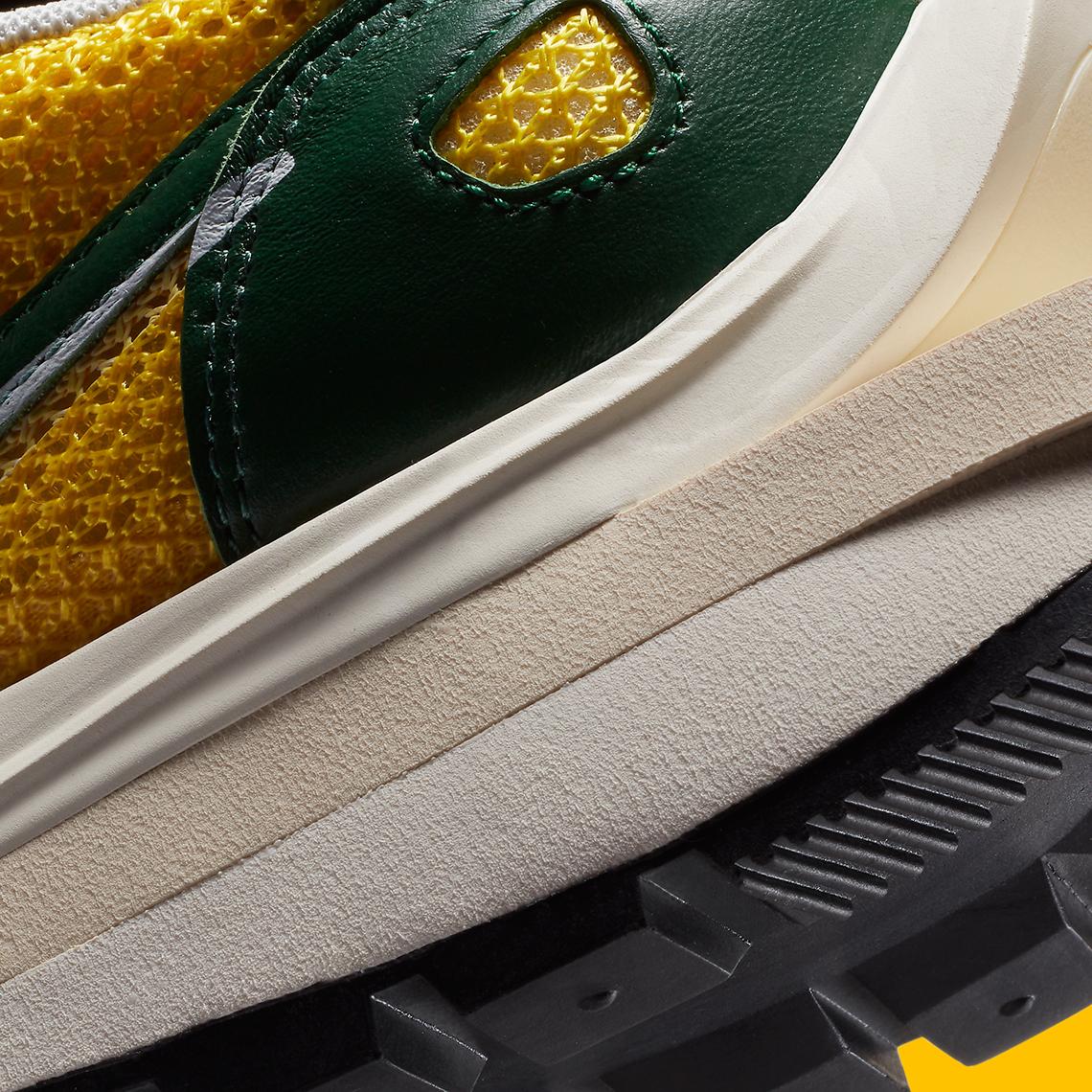 Sacai x Nike Vaporwaffle ''Tour Yellow'' - CV1363-700