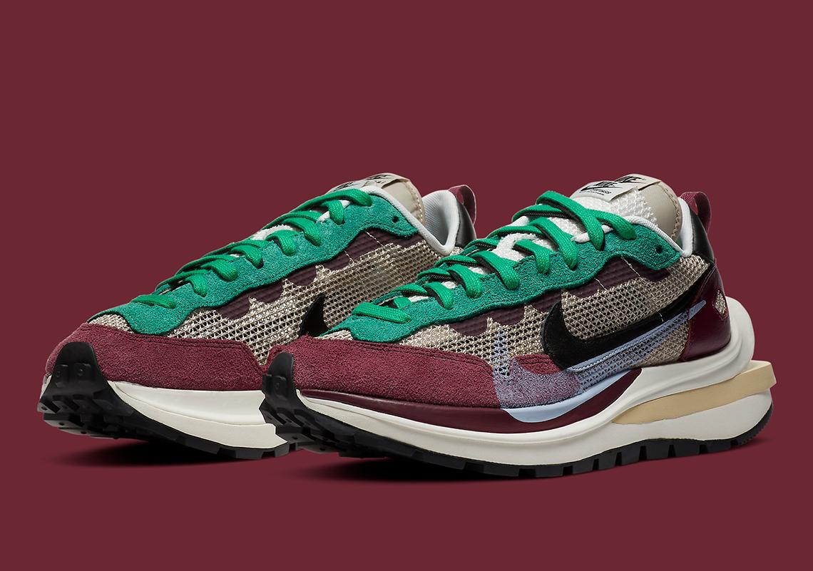 Sacai x Nike Vaporwaffle ''Villain Red'' - DD3035-200