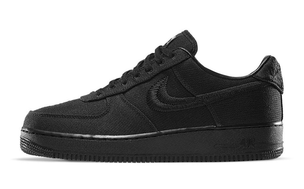 Stussy x Nike Air Force 1 Low ''Black'' - CZ9084-001