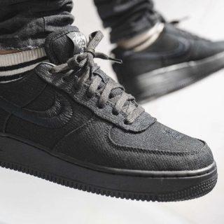 Stussy x Nike Air Force 1 Low ''Black'' - CZ9084-001